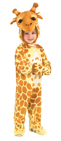 Giraffe Jumpsuit Child's Costume - Toddler 2T-3T