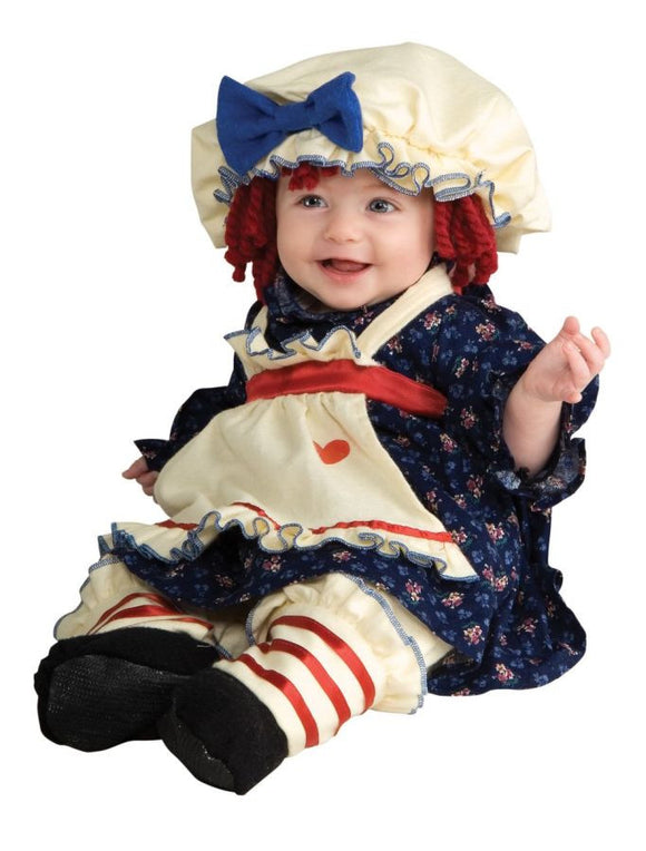 Ragmuffin Infant Child Costume - Toddler 2T-4T