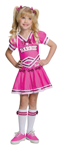 Barbie Cheerleader Girl's Costume - Toddler 2T-4T