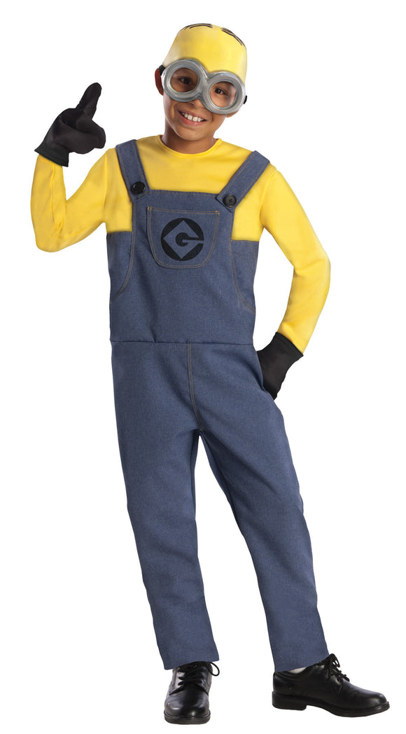Despicable Me 2 Dave Printed Jumpsuit Child Boy's Costume - Small 4-6