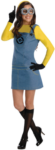 Despicable Me Lady Minion Adult Women's Costume - Extra Small 2-4