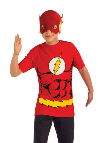 Flash Shirt and Mask Child Boy's Costume - Small 4-6
