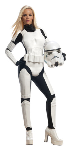 Star Wars Stormtrooper Adult Women's Costume - Small 6-10