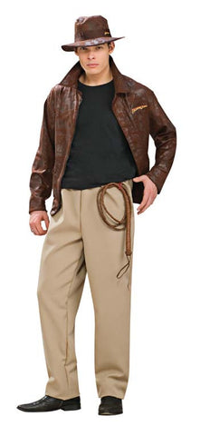 Indiana Jones Deluxe Adult Men's Costume - Extra Large 44-46