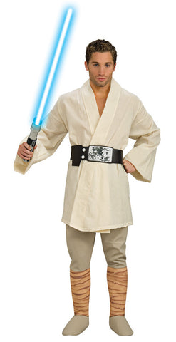 Star Wars Luke Skywalker Deluxe Adult Men's Costume - Extra Large 44-46