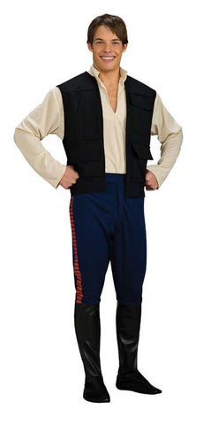 Star Wars Han Solo Deluxe Adult Men's Costume - Extra Large 44-46