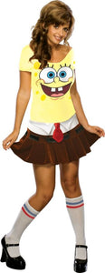 Spongebabe Adult Women's Costume - Extra Small 4-6