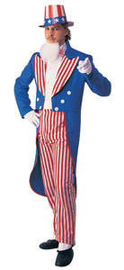 Uncle Sam Adult Men's Costume - Small 34-36