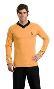 Star Trek Classic Gold Shirt Adult Men's Costume - Extra Large 48-50