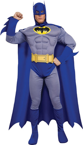 Batman Brave Muscle Deluxe Adult Men's Costume - Small 34-36