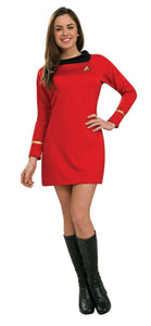 Star Trek Classic Red Dress Adult Women's Costume - Extra Small 0-2
