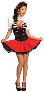 Naval Pinup Adult Women's Costume - Extra Small 0-2