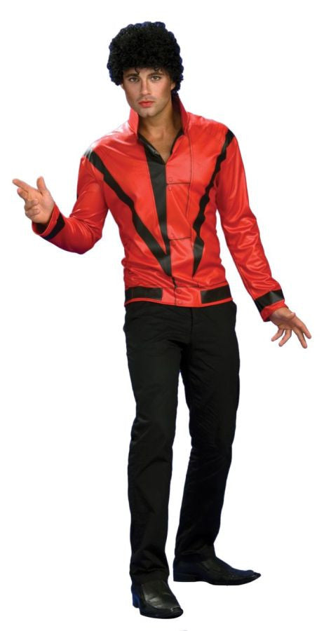 Michael Jackson Thriller Red Jacket Adult Men's Costume - Extra Large 44-46