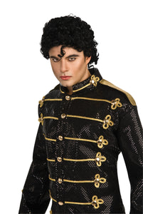 Michael Jackson Military Sequin Adult Men's Costume - Extra Large 44-46