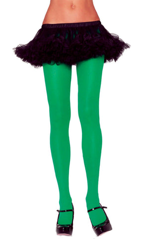 TIGHTS ADULT GREEN 1 SIZE