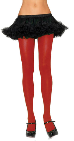 TIGHTS ADULT RED 1 SIZE