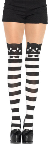 TIGHTS STRIPED CAT