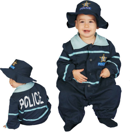 BABY POLICE OFFICER 9 TO 12 MO