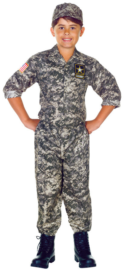U.S. ARMY CAMO SET CHILD (4-6)