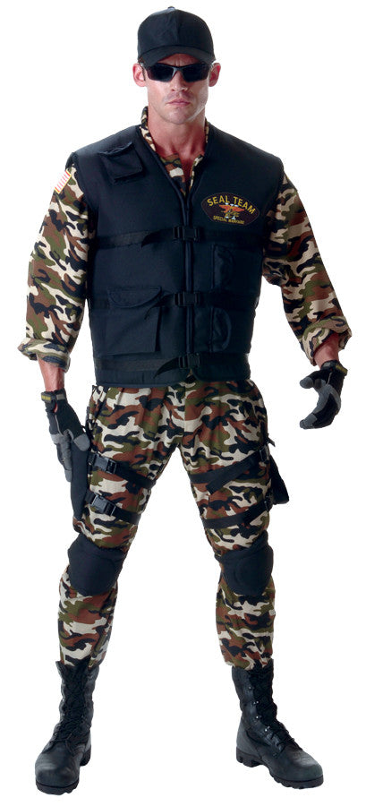 SEAL TEAM DELUXE ADULT 42-46