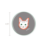 Bff Kitty Ceramic Coaster