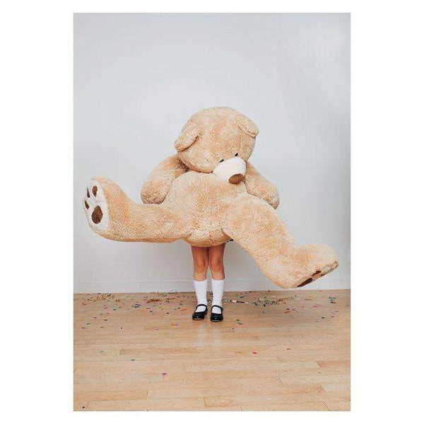 Big Teddy Bear Greeting Card