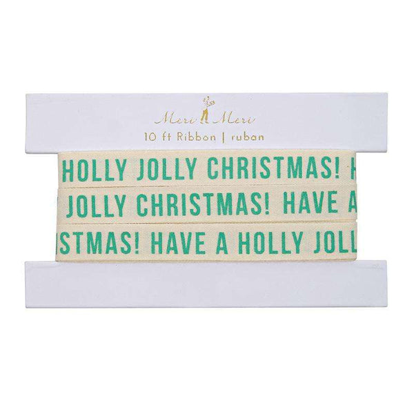 Jolly Christmas Gift Ribbon