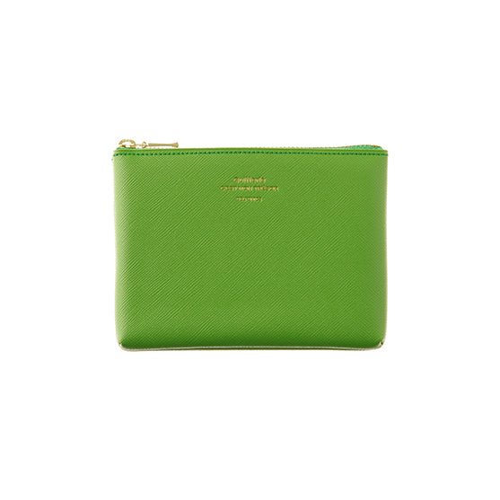 Quitterie Pouch Small Case- Green
