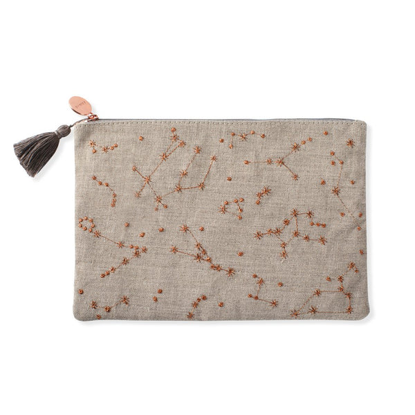 Stars Lined Pouch