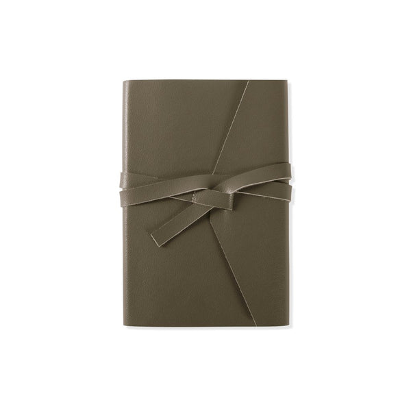 Stitched Olive Notebook