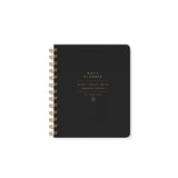 Standard Black Daily Planner