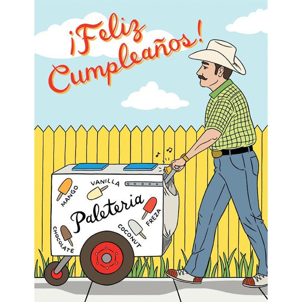 Paleta Greeting Card