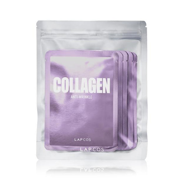 Daily Face Mask Pack Of 5- Collagen