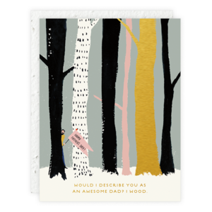 Forest Man Greeting Card
