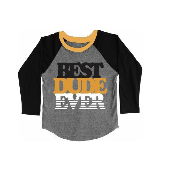 Best Dude Ever Raglan Tee