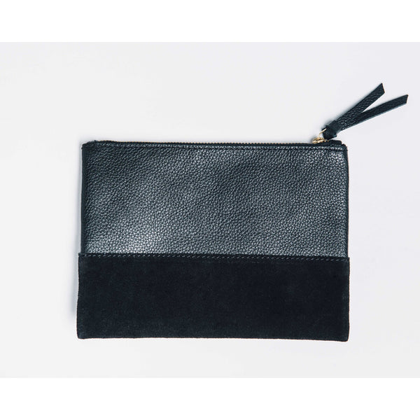 Marigold Cosmetic Bag- Black