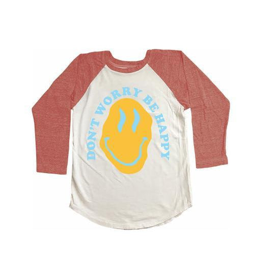 Dont Worry Raglan Tee