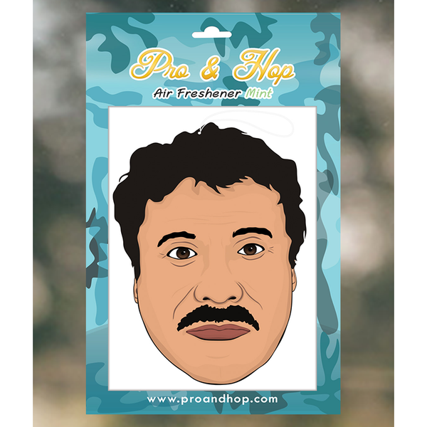 Pro and Hop El Chapo  Air Freshener