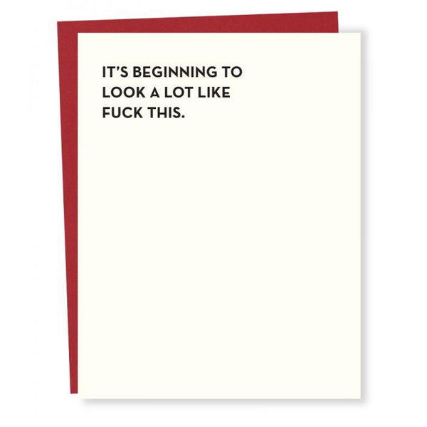 Fuck This Greeting Card
