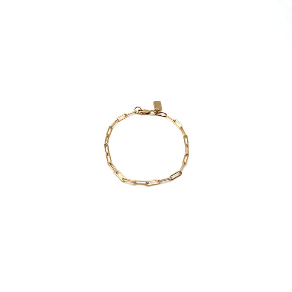 Small Link 14K Gold-Filled Bracelet
