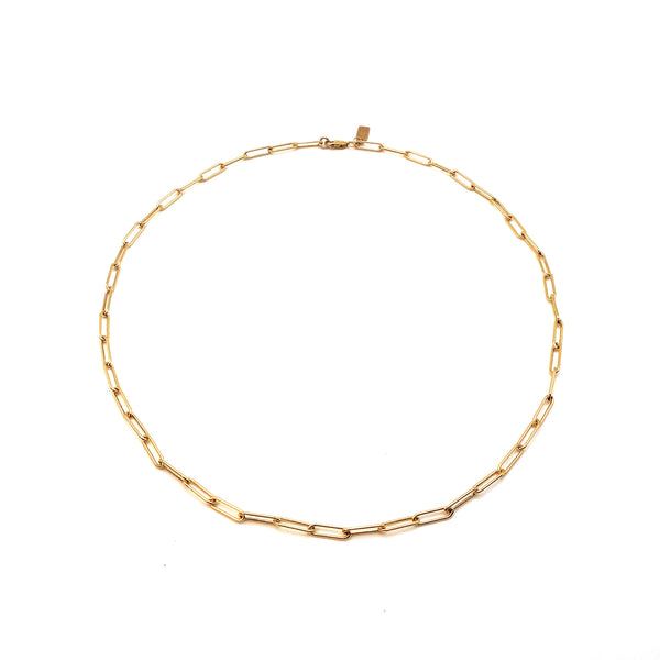 Large Link 14K Gold-Filled Necklace