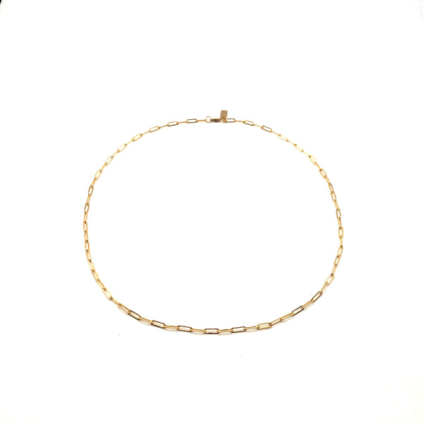 Small Link 14K Gold-Filled Necklace