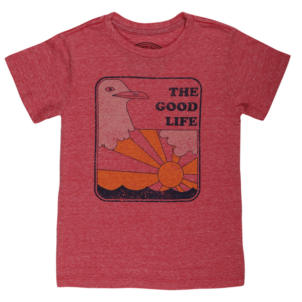 The Good Life Red Tee