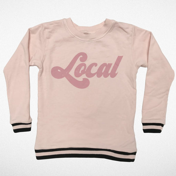 Local Sweatshirt- Faded Pink