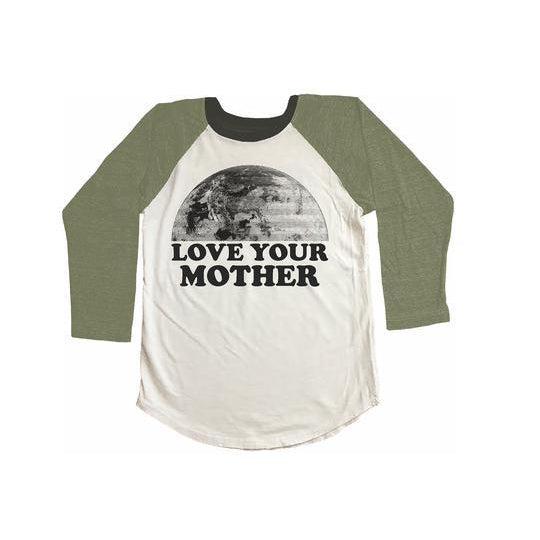 Love Your Mother Raglan Tee