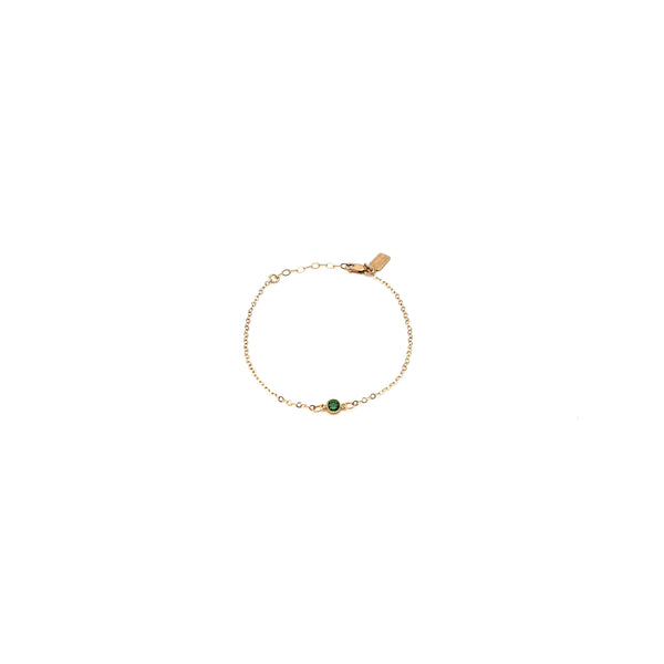 May Birthstone 14K Gold-Filled Bracelet