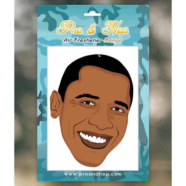 Pro and Hop Obama Face Air Freshener