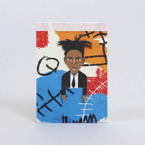 Pocket Sketchbook- Basquiat