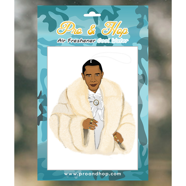 Pro and Hop Pimpin Obama Air Freshener