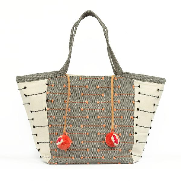Rosa Tote - Floating Fringe